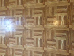 vinyl flooring in birdie room