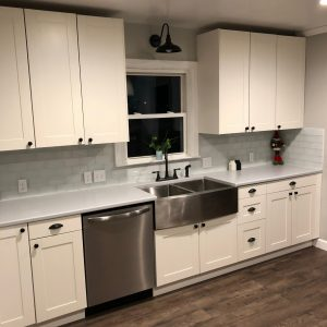 DIY renovation kitchen reveal 100th